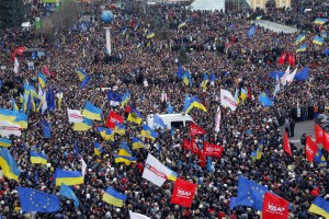 Proteste anti governative in Ucraina